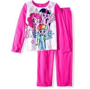 My Little Pony Girl's Pajamas Sleepwear Size 4/5